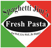 Spaghetti Jim's Grand Traverse Pasta Works logo