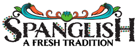 Spanglish Cafe & Catering logo